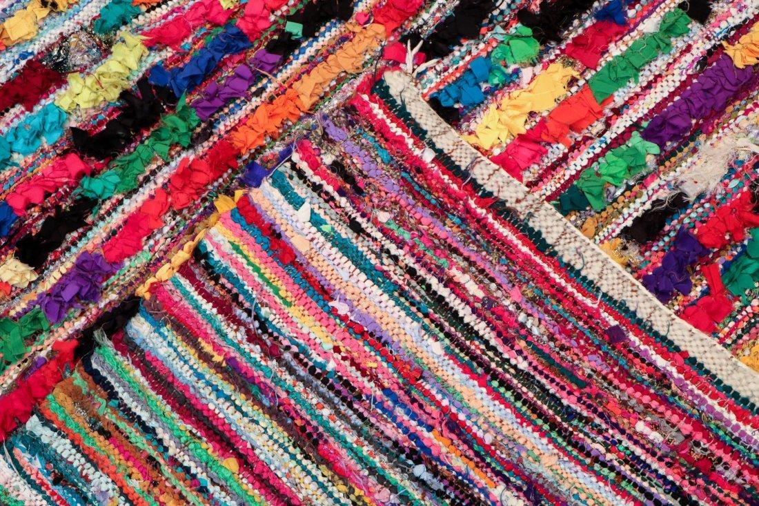 """Vintage Moroccan Rug: 5'5"""" x 8'10"""" (166 x 270 cm) - 4"""