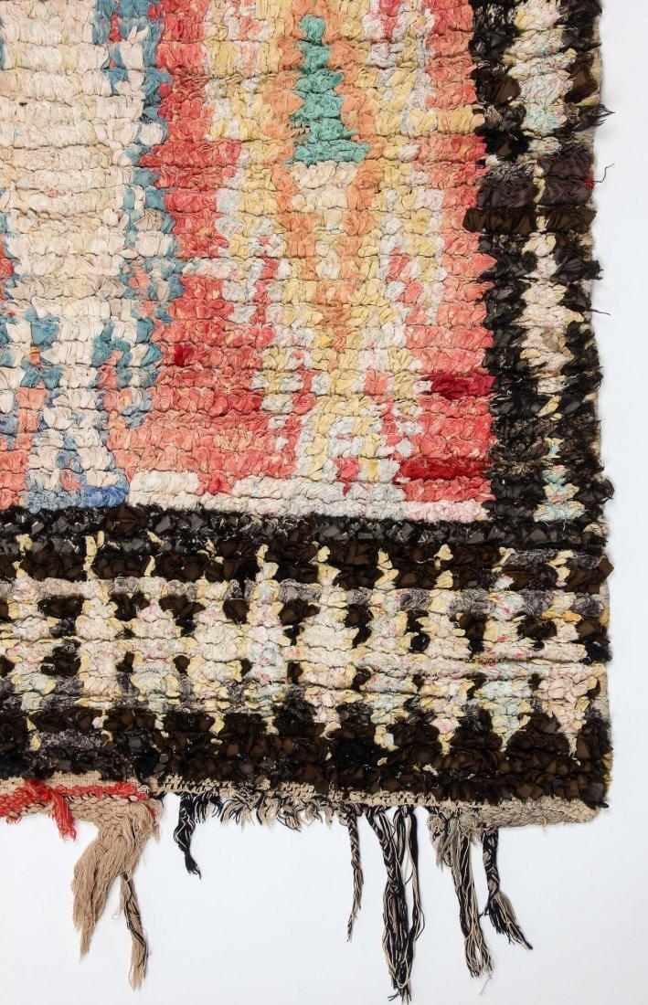 """Vintage Moroccan Rug: 1'3"""" x 6' (39 x 182 cm) - 2"""