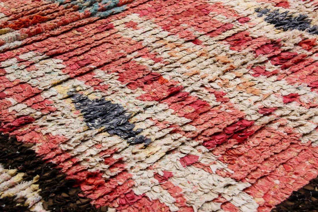 """Vintage Moroccan Rug: 1'3"""" x 6' (39 x 182 cm) - 3"""