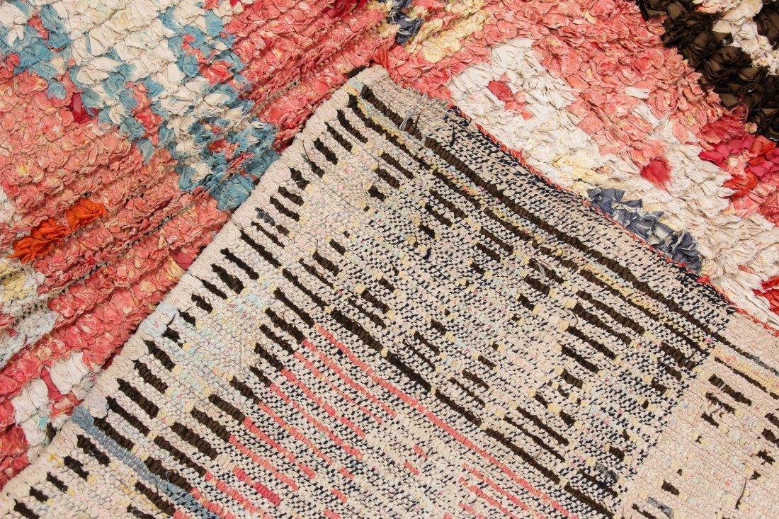"""Vintage Moroccan Rug: 1'3"""" x 6' (39 x 182 cm) - 4"""