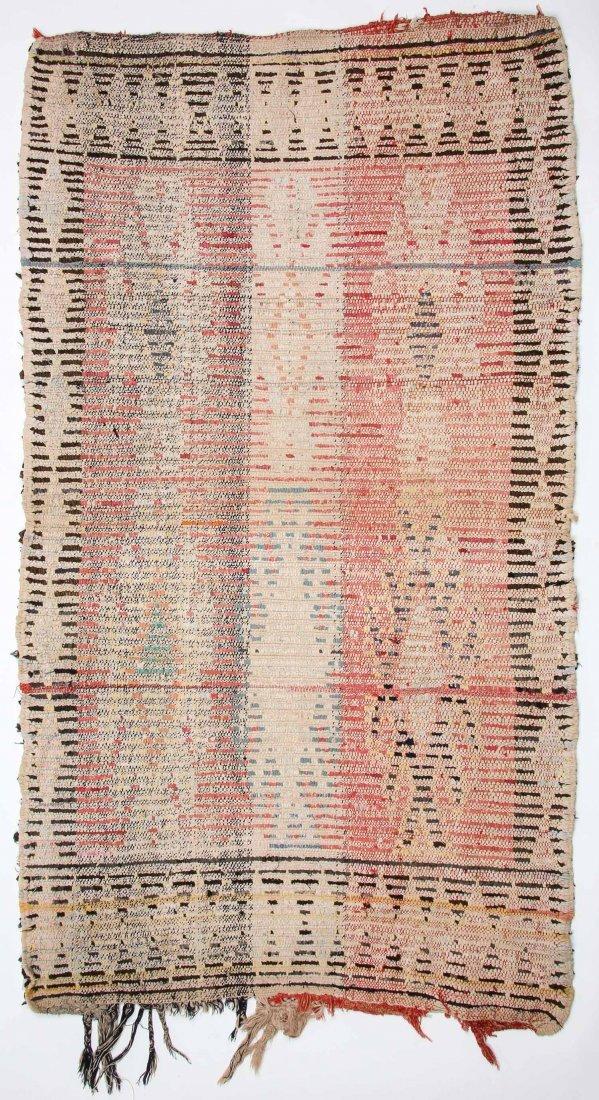 """Vintage Moroccan Rug: 1'3"""" x 6' (39 x 182 cm) - 6"""