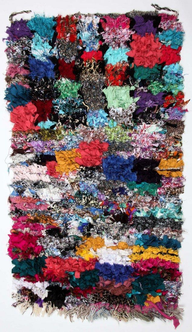 """Vintage Moroccan Rug: 2'8"""" x 4'10"""" (81 x 148 cm)"""