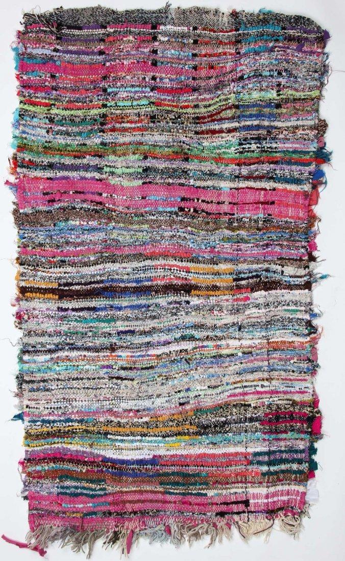 """Vintage Moroccan Rug: 2'8"""" x 4'10"""" (81 x 148 cm) - 6"""