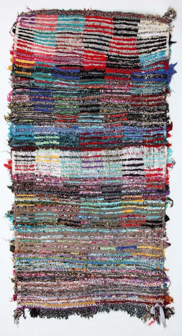 """Vintage Moroccan Rug: 2'4"""" x 4'7"""" (70 x 140 cm) - 6"""