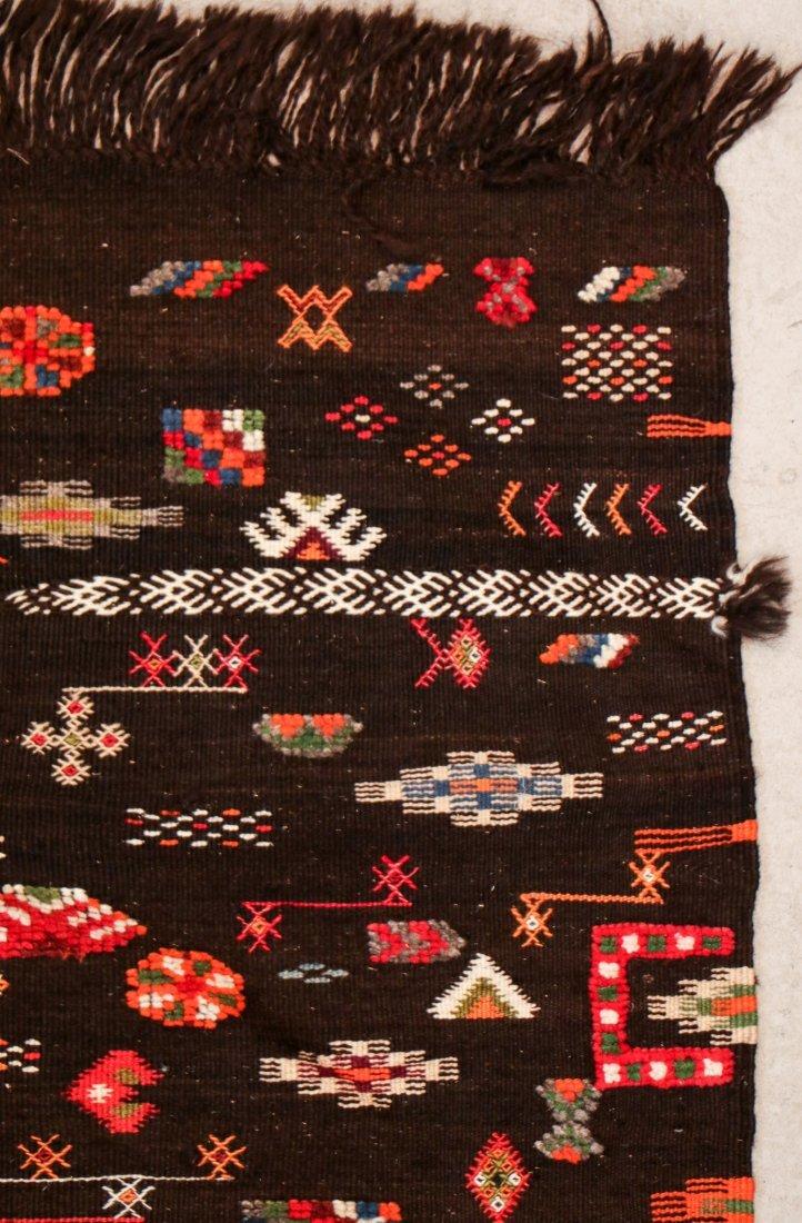 """Vintage Moroccan Rug: 3'11"""" x 6' (119 x 183 cm) - 2"""