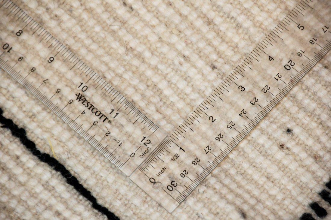 """Vintage Beni Ourain Rug: 5' x 7'4"""" (153 x 223 cm) - 5"""