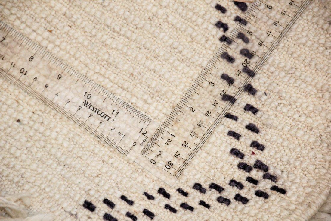 """Vintage Beni Ourain Rug: 6'8"""" x 9'10"""" (203 x 300 cm) - 5"""
