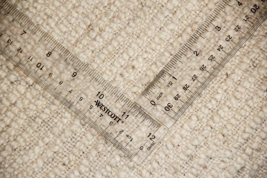 """Vintage Beni Ourain Rug: 6'7"""" x 7'5"""" (200 x 225 cm) - 5"""