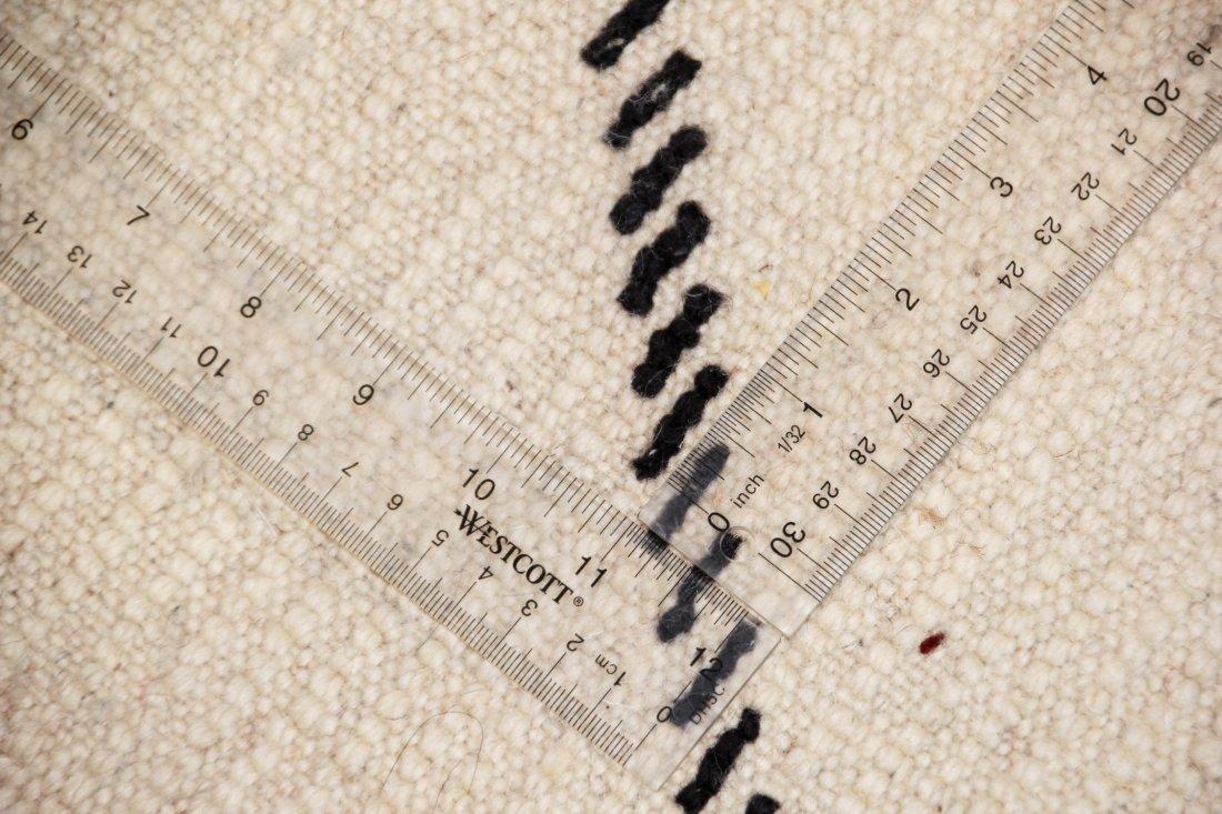 """Vintage Beni Ourain Rug: 6'3"""" x 7'11"""" (191 x 242 cm) - 5"""