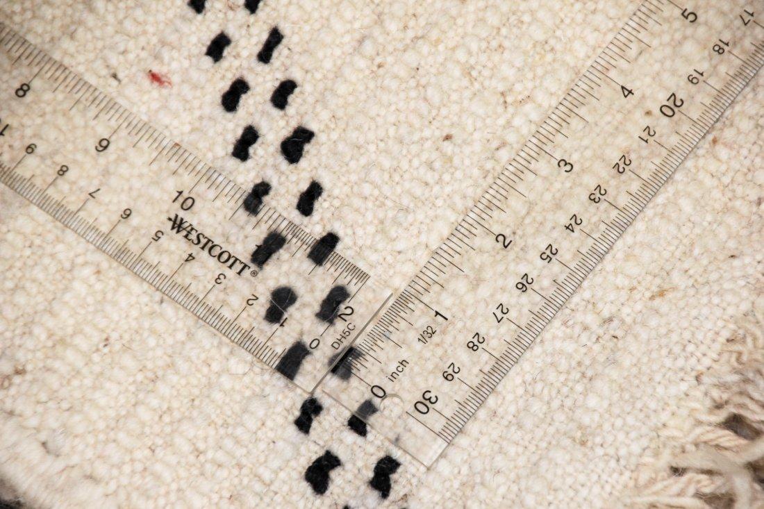 """Vintage Beni Ourain Rug: 7'5"""" x 9'4"""" (226 x 285 cm) - 5"""