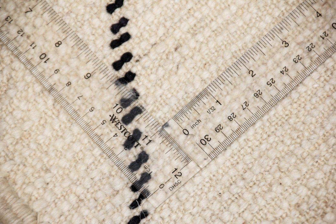 """Vintage Beni Ourain Rug: 6'6"""" x 9'6"""" (198 x 289 cm) - 5"""