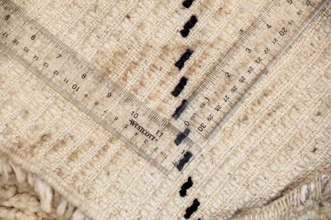 """Vintage Beni Ourain Rug: 6'11"""" x 8'9"""" (210 x 266 cm) - 5"""