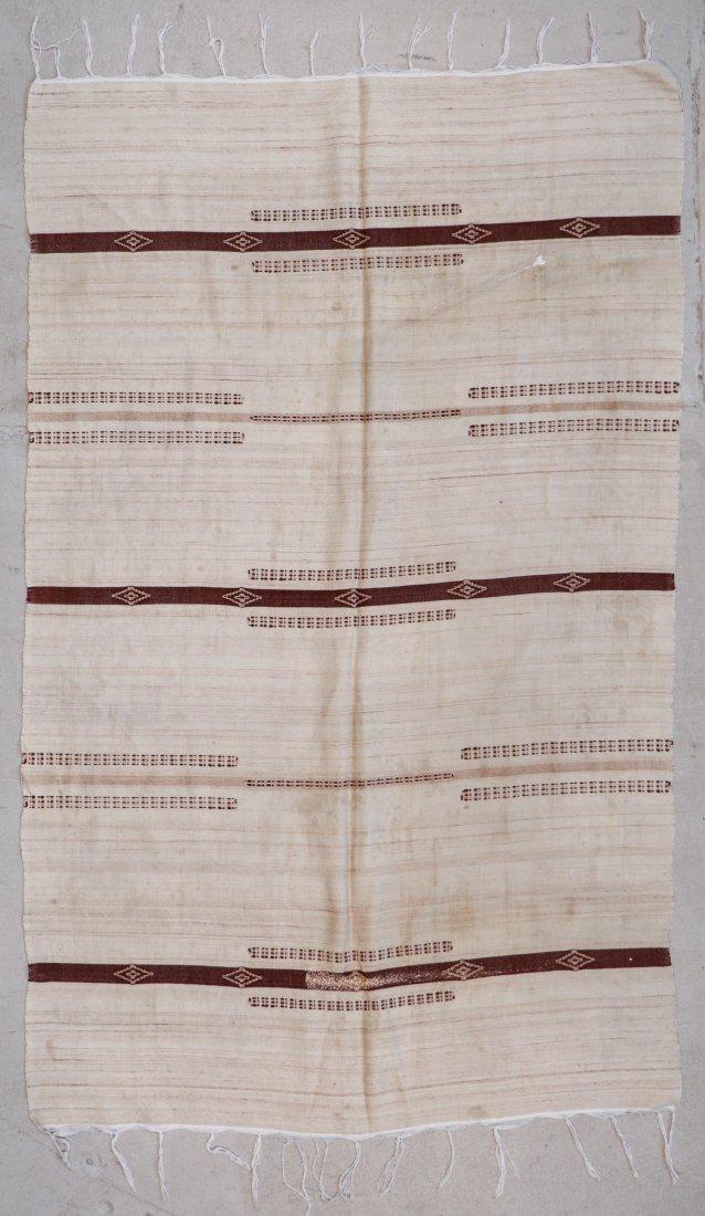 "Vintage Moroccan Kilim: 4'11"" x 7'10"" (150 x 240 cm)"
