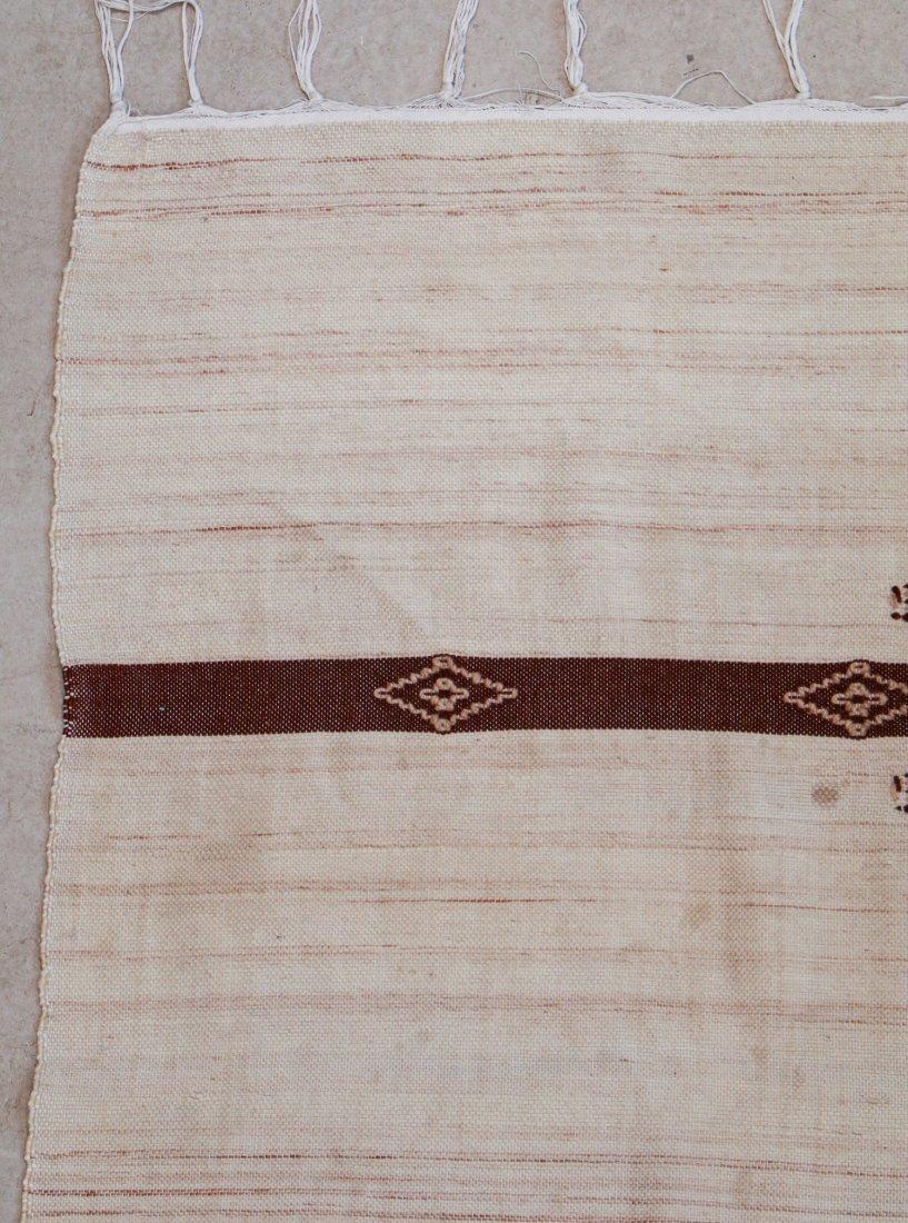 "Vintage Moroccan Kilim: 4'11"" x 7'10"" (150 x 240 cm) - 2"