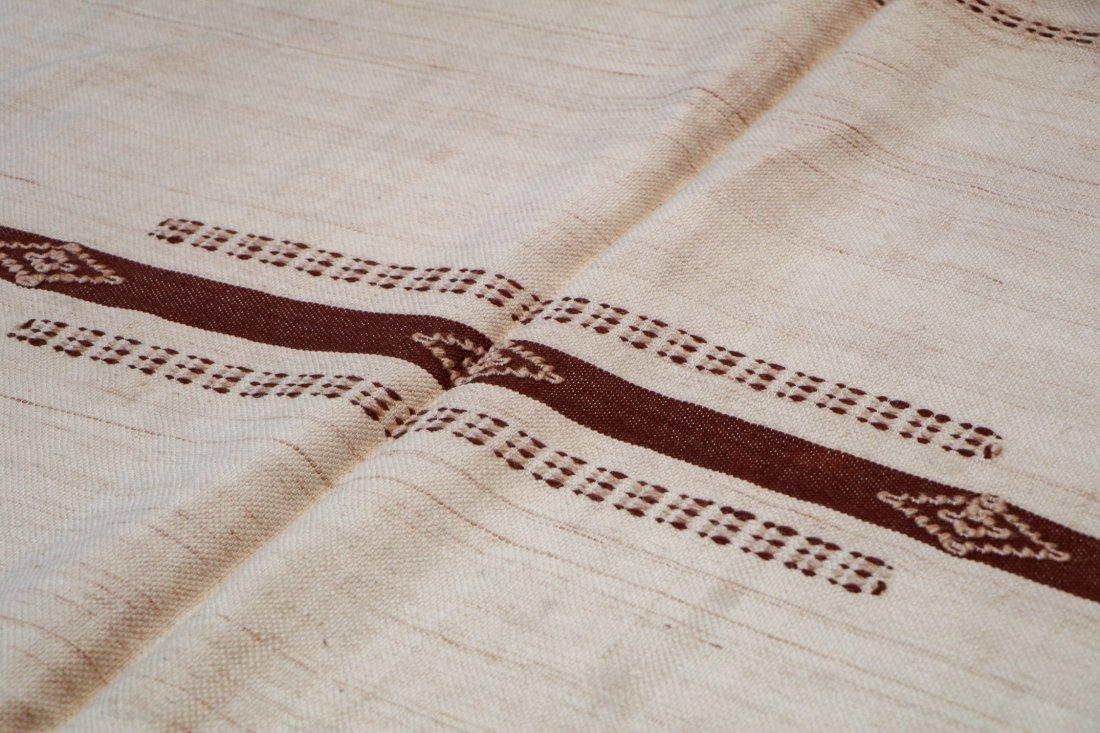 "Vintage Moroccan Kilim: 4'11"" x 7'10"" (150 x 240 cm) - 3"