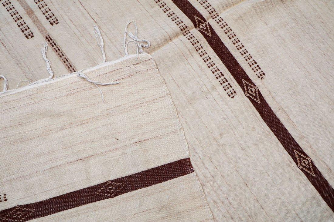"Vintage Moroccan Kilim: 4'11"" x 7'10"" (150 x 240 cm) - 4"