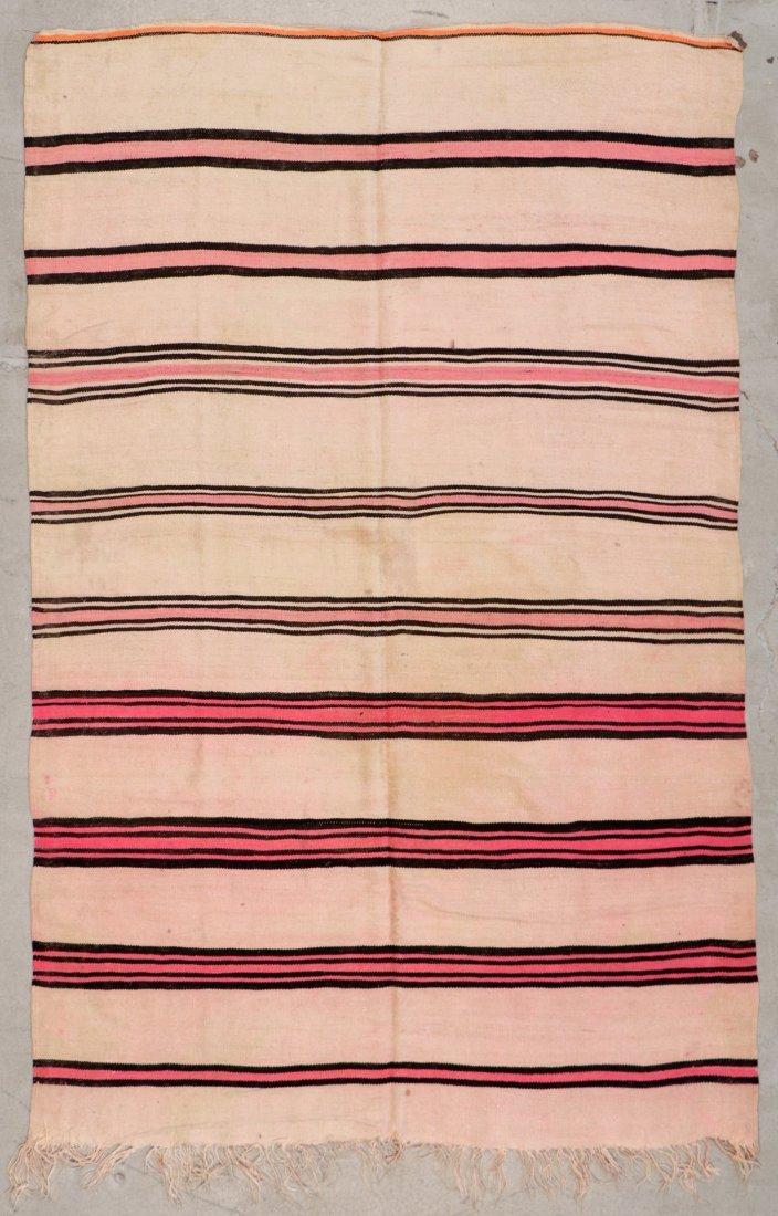 "Vintage Moroccan Kilim: 5'6"" x 8'4"" (167 x 255 cm)"