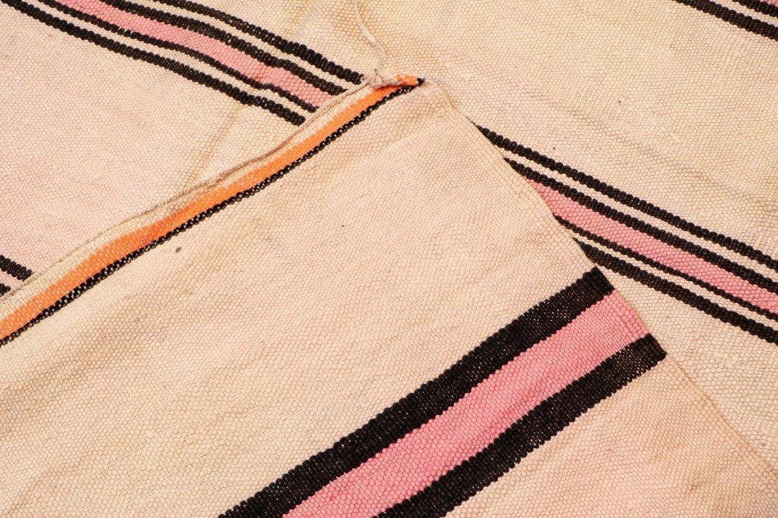 "Vintage Moroccan Kilim: 5'6"" x 8'4"" (167 x 255 cm) - 4"