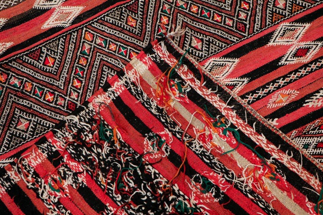 "Vintage Moroccan Kilim: 5'6"" x 10'10"" (167 x 330 cm) - 4"
