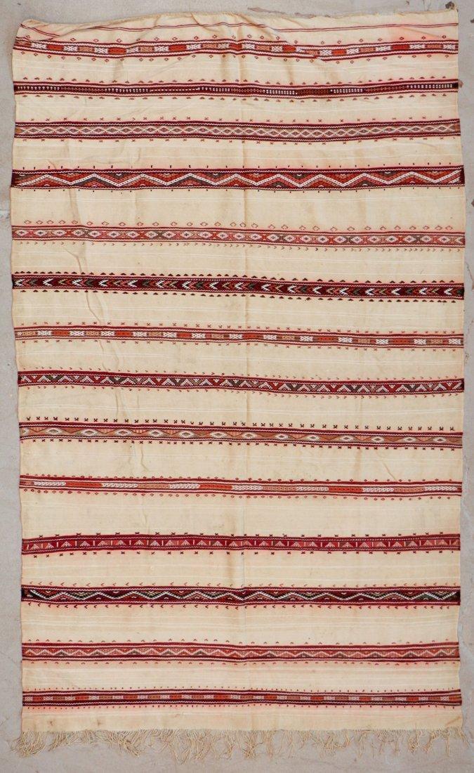 "Vintage Moroccan Kilim: 5'4"" x 8'10"" (163 x 268 cm)"