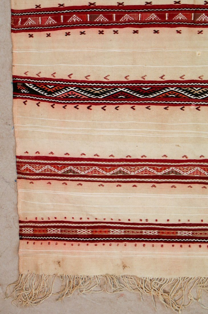 "Vintage Moroccan Kilim: 5'4"" x 8'10"" (163 x 268 cm) - 2"