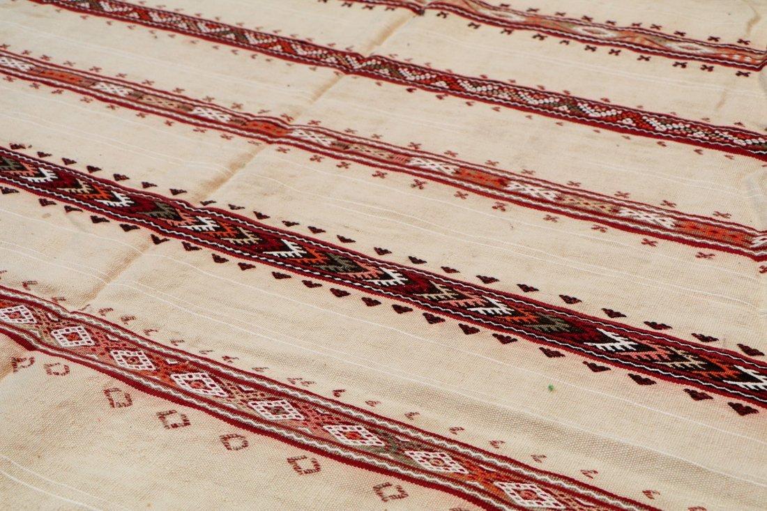 "Vintage Moroccan Kilim: 5'4"" x 8'10"" (163 x 268 cm) - 3"