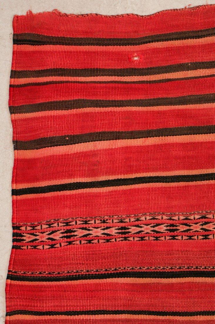 "Vintage Moroccan Kilim: 5'5"" x 8'3"" (166 x 252 cm) - 2"