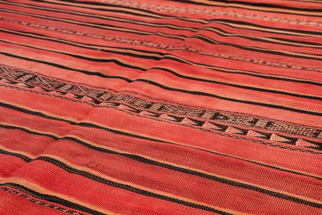 "Vintage Moroccan Kilim: 5'5"" x 8'3"" (166 x 252 cm) - 3"