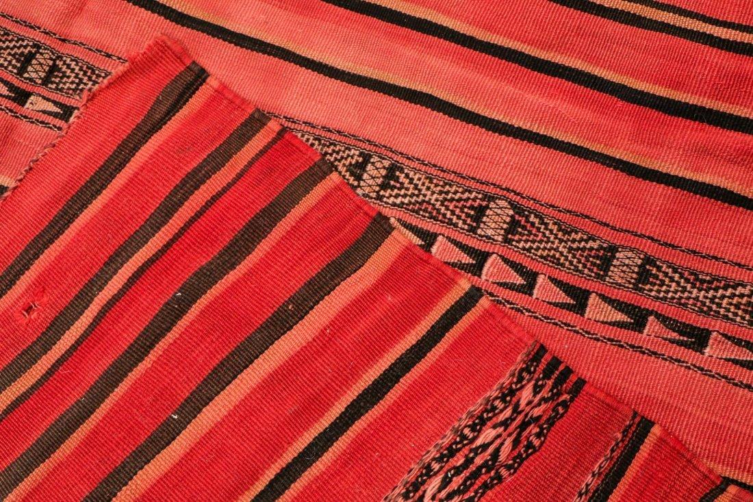 "Vintage Moroccan Kilim: 5'5"" x 8'3"" (166 x 252 cm) - 4"