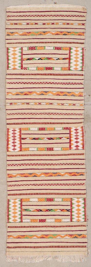 "Vintage Moroccan Kilim: 2'9"" x 8'10"" (85 x 270 cm)"