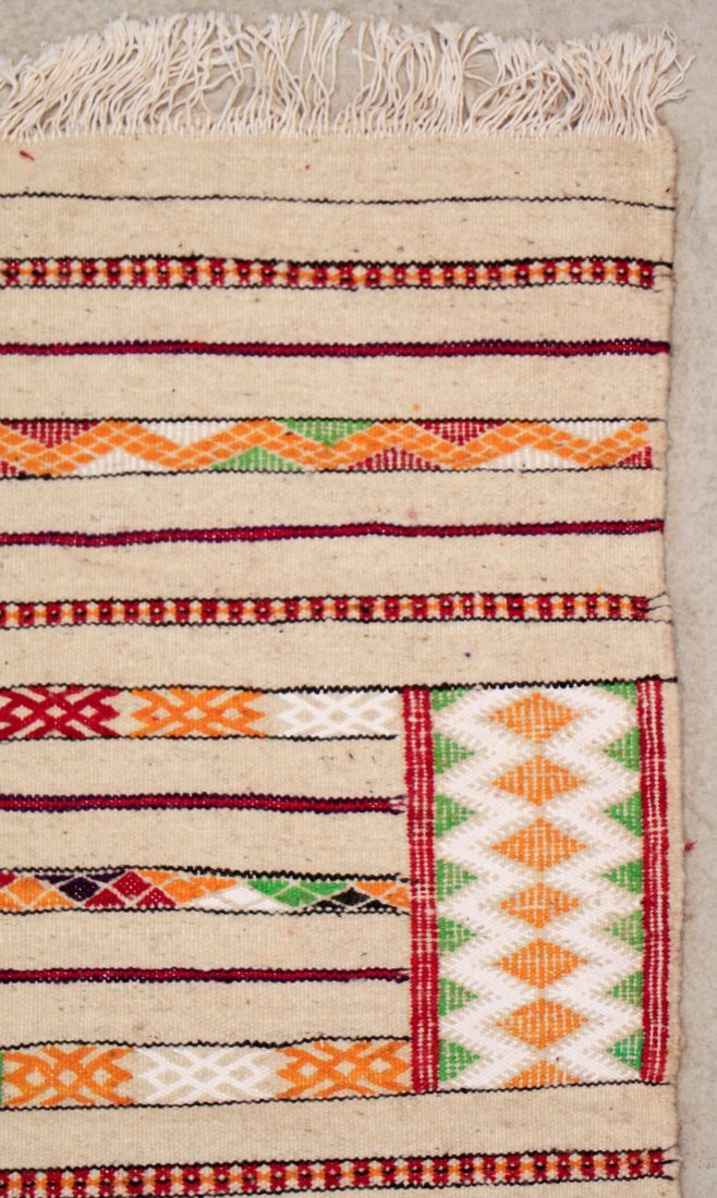 "Vintage Moroccan Kilim: 2'9"" x 8'10"" (85 x 270 cm) - 2"