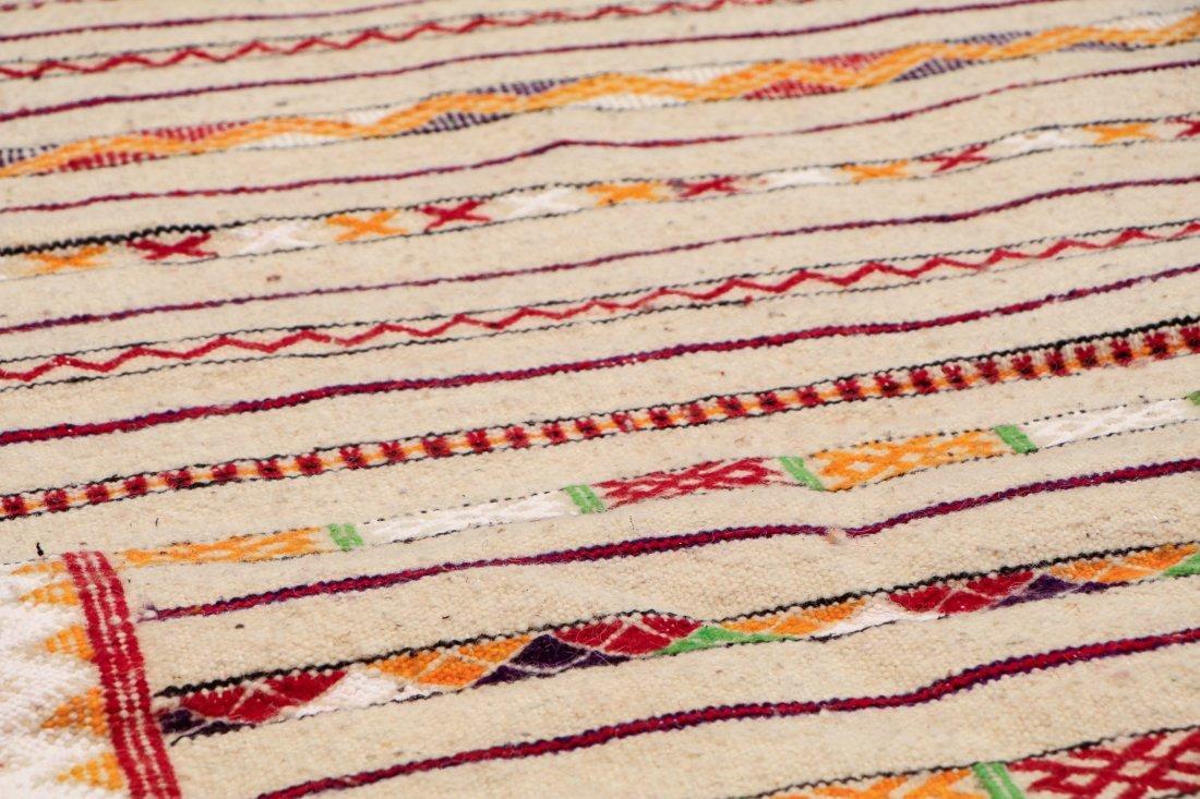 "Vintage Moroccan Kilim: 2'9"" x 8'10"" (85 x 270 cm) - 3"