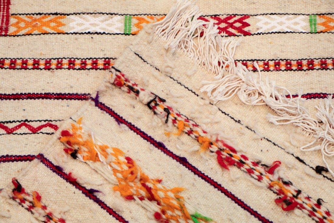 "Vintage Moroccan Kilim: 2'9"" x 8'10"" (85 x 270 cm) - 4"