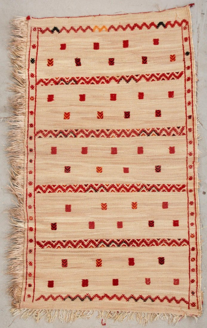 "Middle Atlas Moroccan Rug: 4'6"" x 7'8"" (138 x 233 cm)"