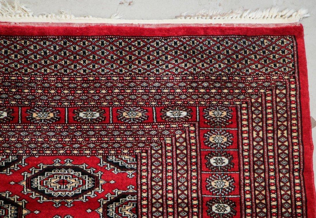 Vintage Pakistan Bokhara Rug: 6'2'' x 9'0'' - 3