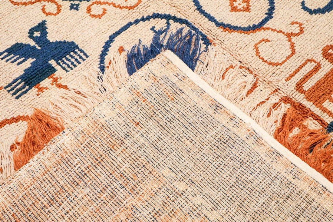 Vintage Spanish Rug: 8'4'' x 11'5'' (254 x 348 cm) - 4