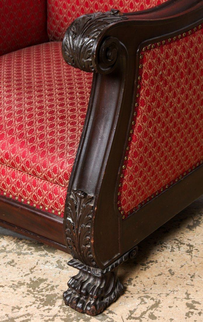 Pair 19th C Renaissance Revival Armchairs - 2