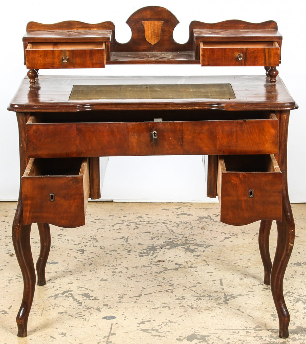 Continental Louis Philippe Style Desk and Chair - 2