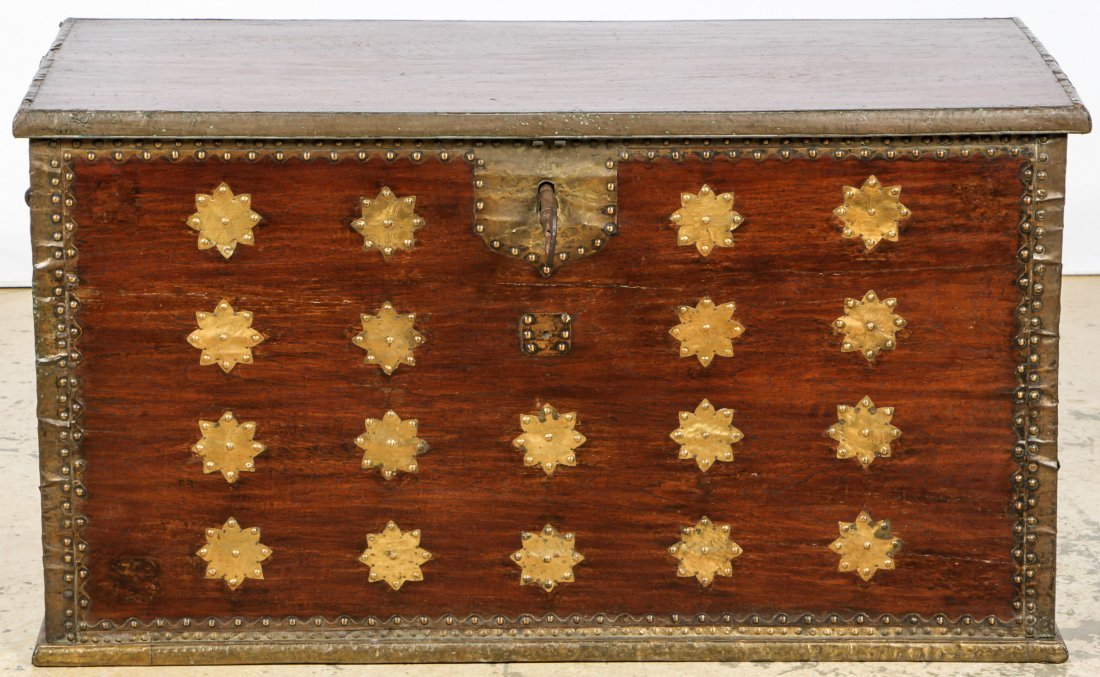 Antique Javanese Dowry Chest