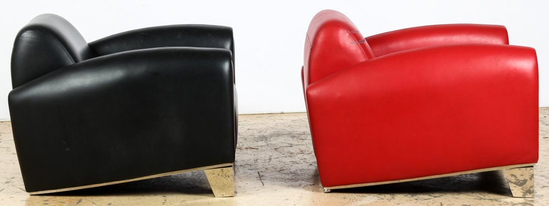 Art Deco Style Club Chairs - 2