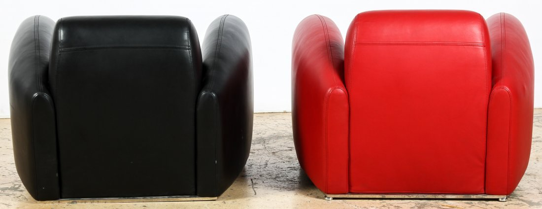 Art Deco Style Club Chairs - 3