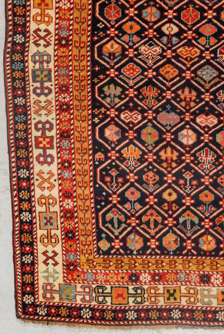 Antique Shirvan Prayer Rug: 4'1'' x 5'8'' (124 x 173 - 2