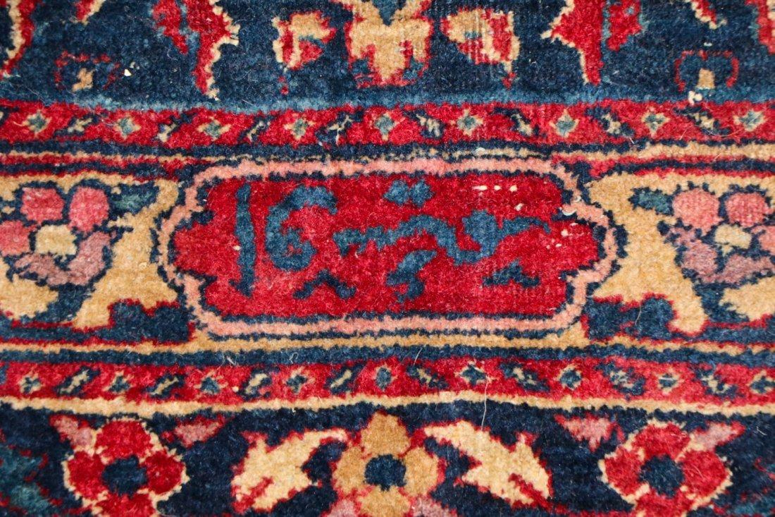 "Antique Kerman Garden ""Vase"" Carpet: 10'5"" x 20' - 5"