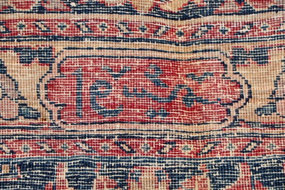 "Antique Kerman Garden ""Vase"" Carpet: 10'5"" x 20' - 6"