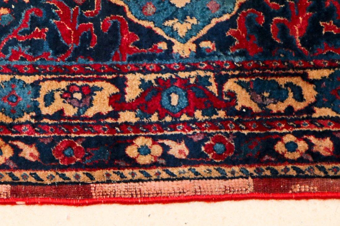 "Antique Kerman Garden ""Vase"" Carpet: 10'5"" x 20' - 7"