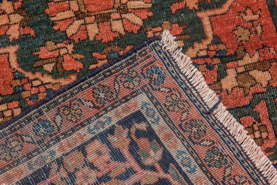 Antique Sarouk Ferahan Rug: 4'3'' x 6'9'' (130 x 206 - 4