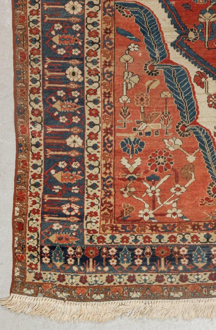Fine 19th C. West Persian Village Rug: 4'7'' x 6'1'' - 3