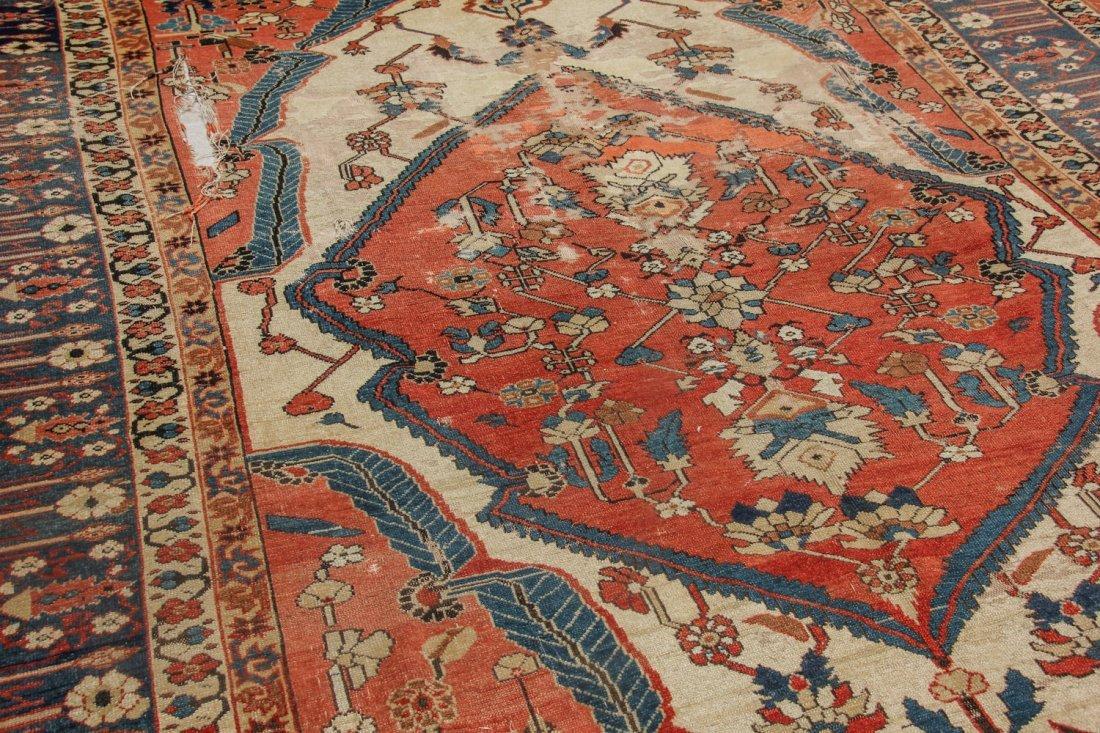 Fine 19th C. West Persian Village Rug: 4'7'' x 6'1'' - 4