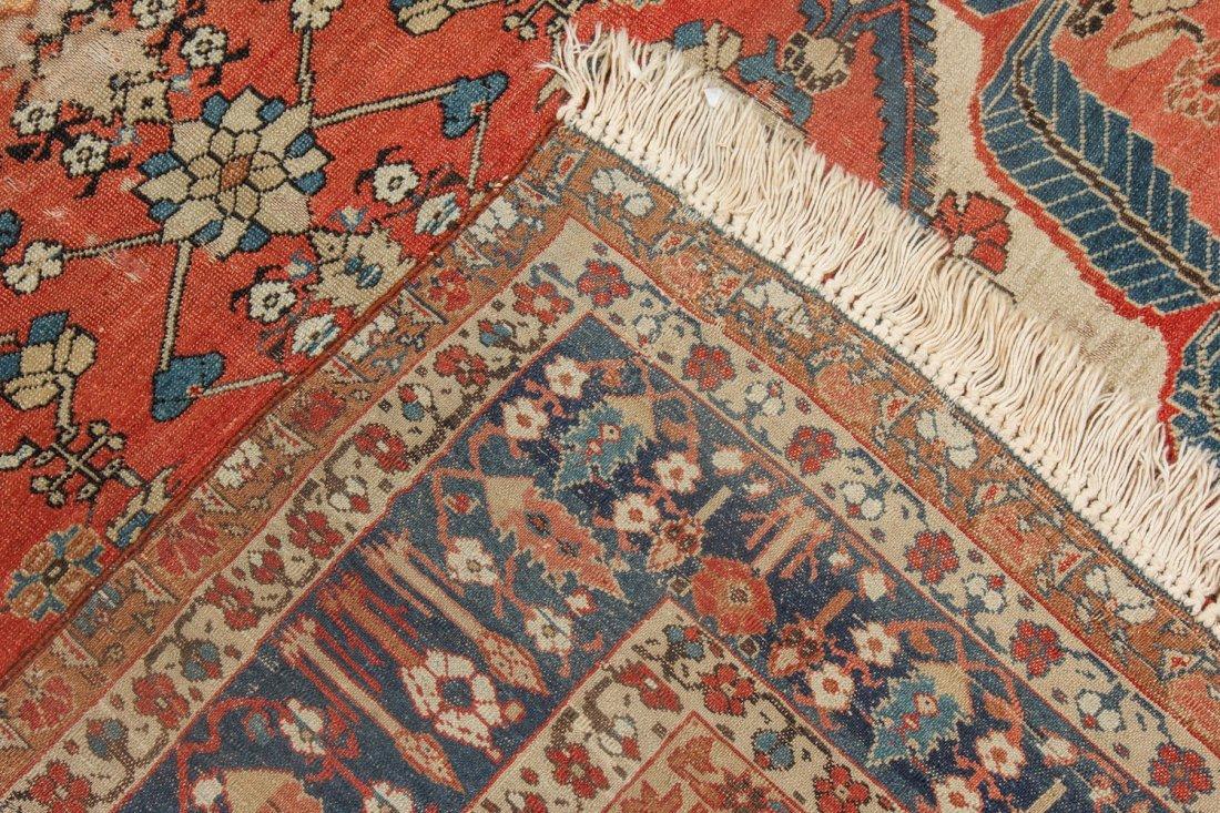 Fine 19th C. West Persian Village Rug: 4'7'' x 6'1'' - 5
