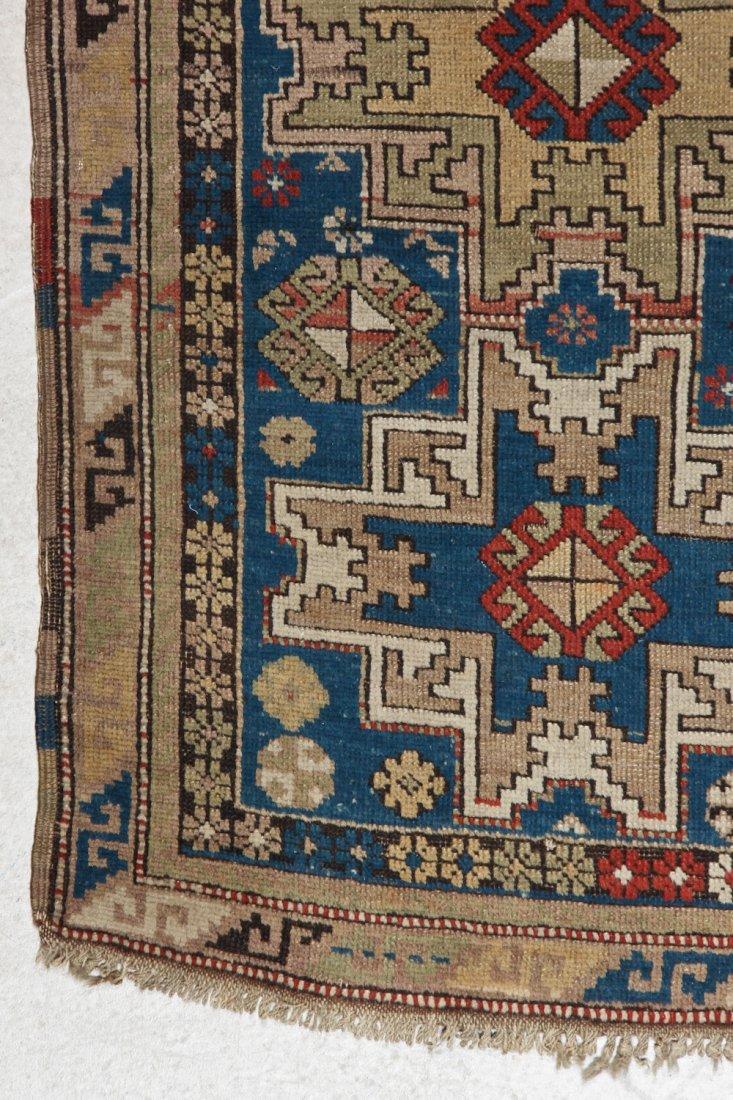 Antique Shirvan Rug: 3'10'' x 5'6'' (117 x 168 cm) - 2